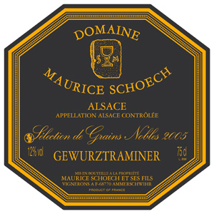 De l'harmonie dans l'R au domaine Schoech à Ammerschwihr